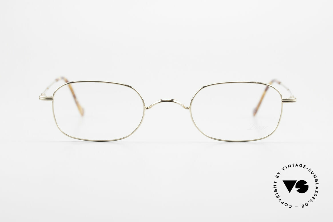 Lunor 322 Classic Vintage Eyeglasses 90s, traditional German brand; quality handmade in Germany, Made for Men and Women