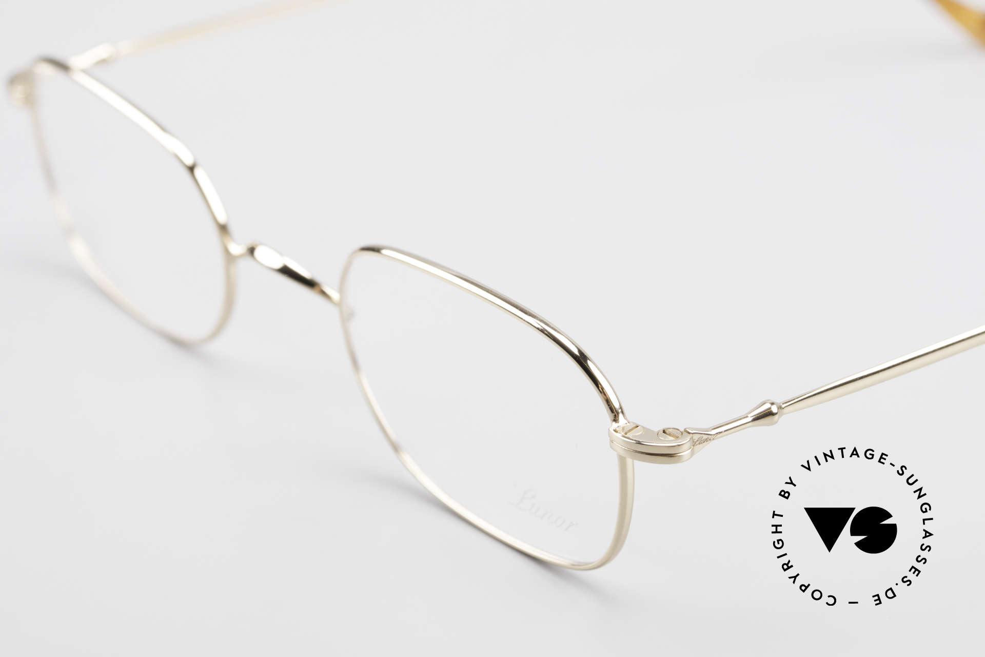 Lunor 322 Classic Vintage Eyeglasses 90s, unworn RARITY (for all lovers of quality) from app. 1998, Made for Men and Women