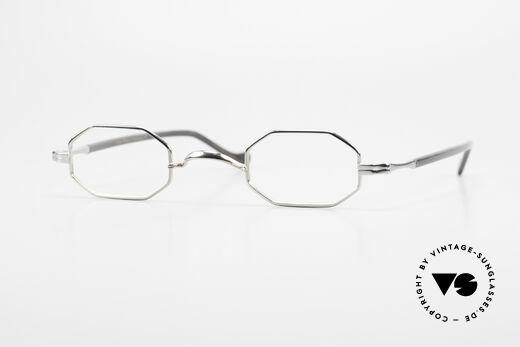 Lunor Octag II-A Octagonal Vintage Eyeglasses Details