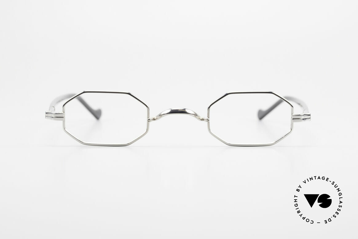 Lunor Octag II-A Octagonal Vintage Eyeglasses, traditional German brand; quality handmade in Germany, Made for Men and Women