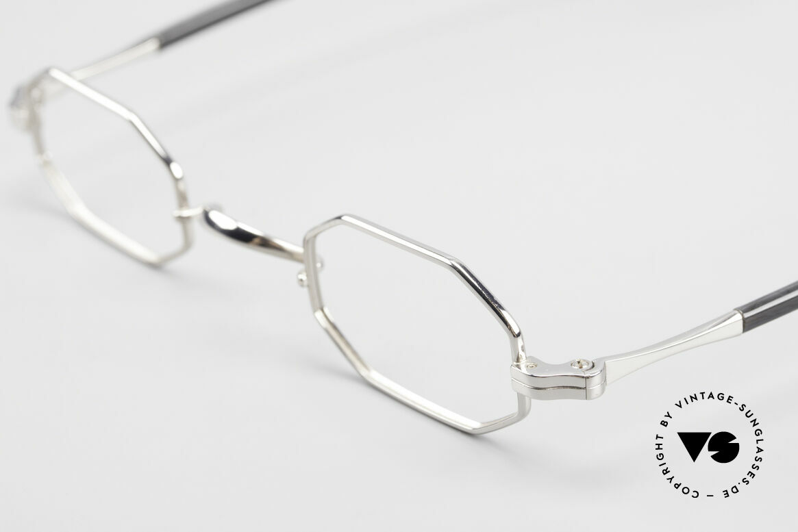 Lunor Octag II-A Octagonal Vintage Eyeglasses, unworn RARITY (for all lovers of quality) from app. 1998, Made for Men and Women