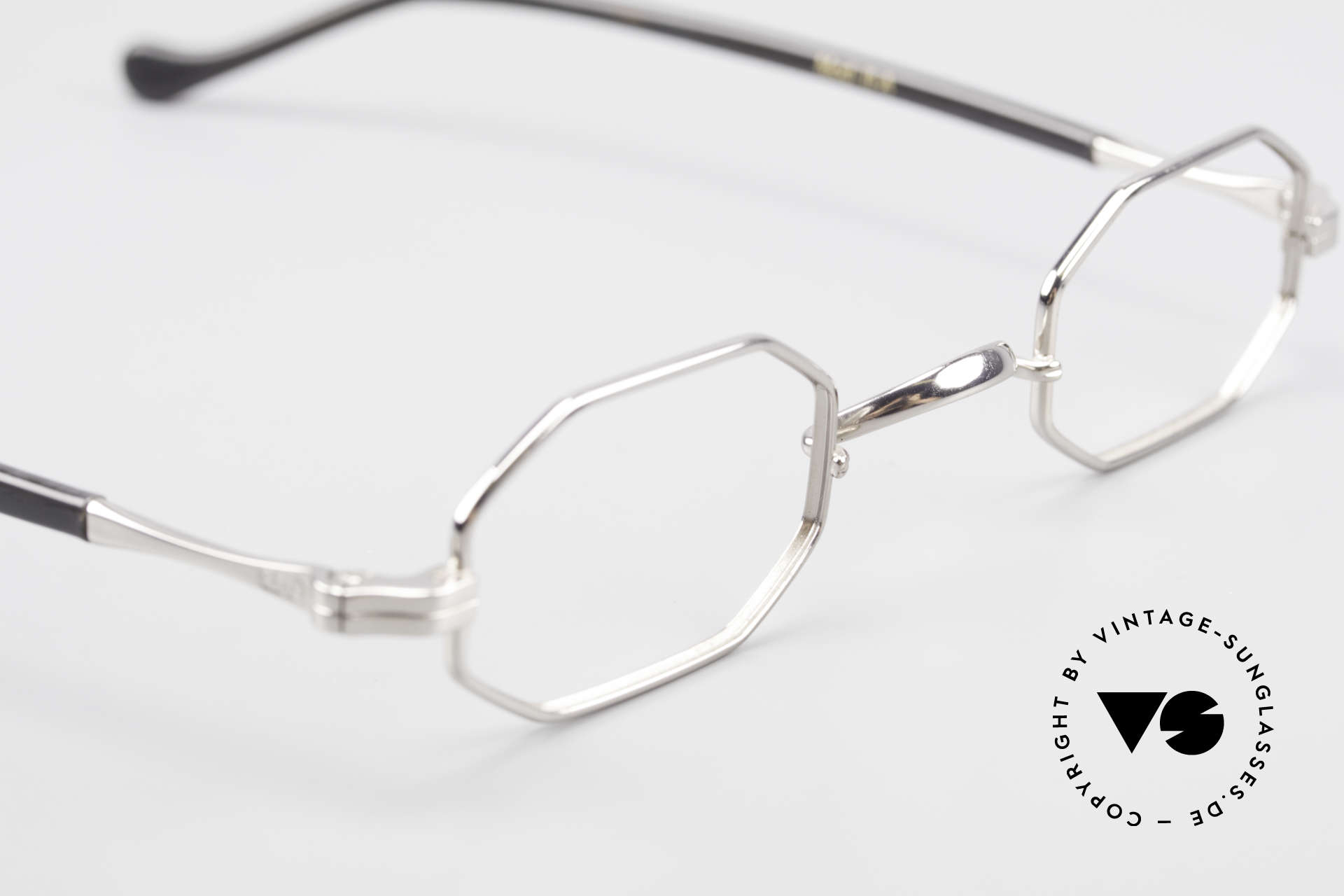 Lunor Octag II-A Octagonal Vintage Eyeglasses, NO RETRO EYEGLASSES; but a luxury vintage ORIGINAL, Made for Men and Women