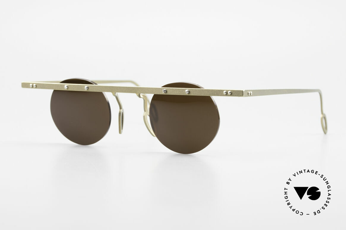Theo Belgium Tita VII 10 Crazy Titanium Sunglasses 90s, Theo Belgium: the most self-willed brand in the world, Made for Men and Women