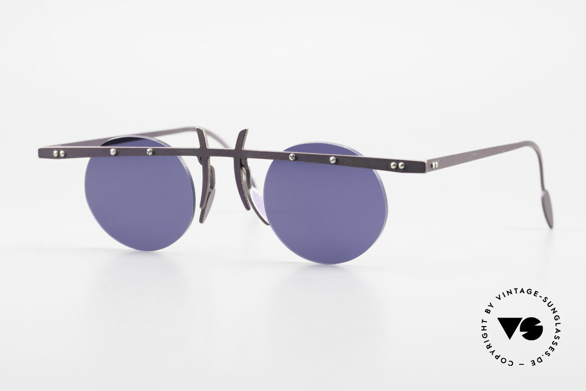 Theo Belgium Tita VI 4 Crazy Sunglasses Titanium 90s, Theo Belgium: the most self-willed brand in the world, Made for Men and Women