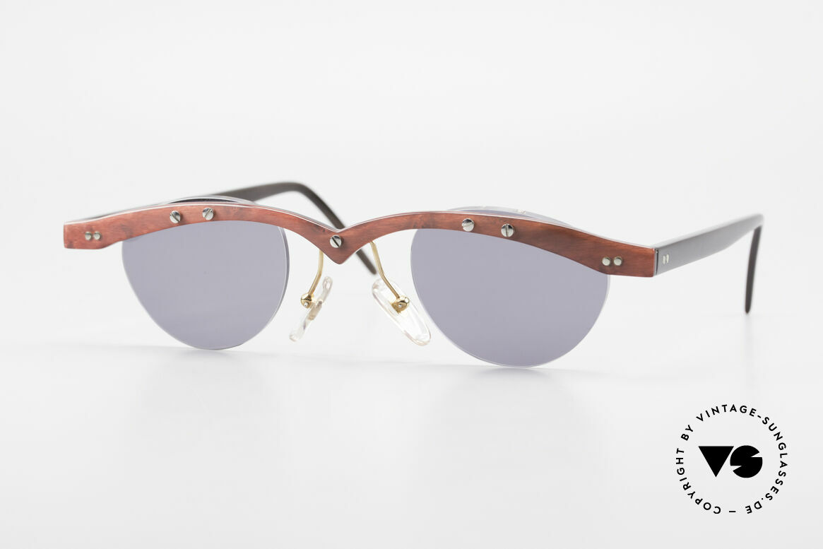Theo Belgium Gamma 90's Buffalo Horn Sunglasses, Theo Belgium: the most self-willed brand in the world, Made for Men and Women