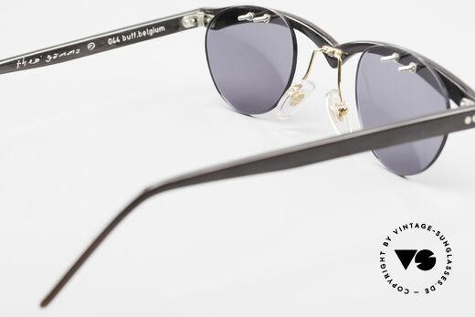 Theo Belgium Gamma 90's Buffalo Horn Sunglasses, so to speak: vintage sunglasses with representativeness, Made for Men and Women