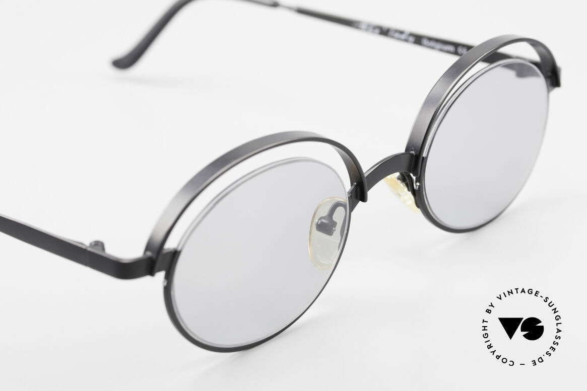 Theo Belgium Lady 90s Crazy Designer Sunglasses, unworn, one of a kind, Theo specs for all who dare, Made for Women