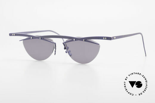 Theo Belgium Tita III 2 Crazy Vintage Sunglasses XL Details