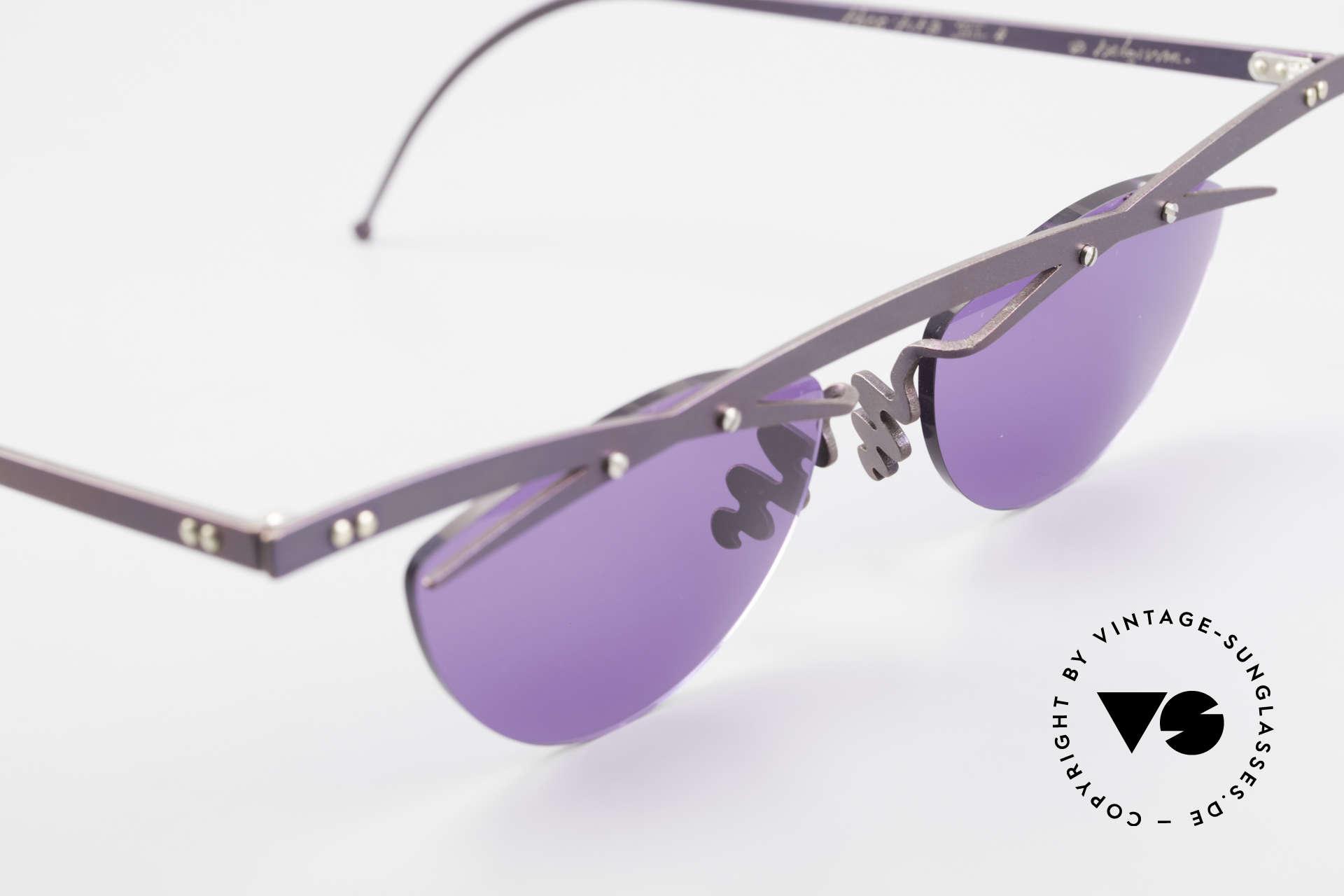 Theo Belgium Tita III 4 XL Crazy Vintage Sunglasses, an old, unworn THEO original and NO RETRO EYEWEAR, Made for Men and Women