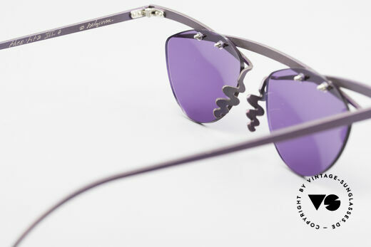 Theo Belgium Tita III 4 XL Crazy Vintage Sunglasses, sun lenses (100% UV) can be replaced with prescriptions, Made for Men and Women