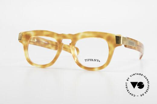 Tiffany T739 Striking Vintage Nerd Frame Details