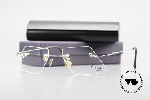 Paul Chiol 2001 Unique Rimless Eyeglasses, Size: medium, Made for Men and Women