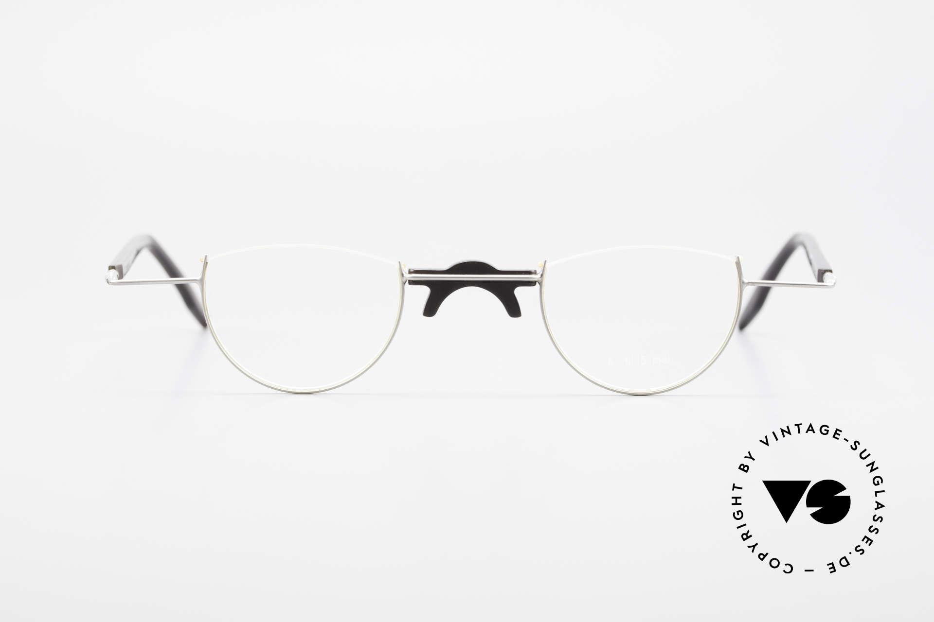Wolfgang Katzer Fil 5 Genuine Horn Reading Glasses, rare glasses (hand made of GENUINE buffalo horn), Made for Men