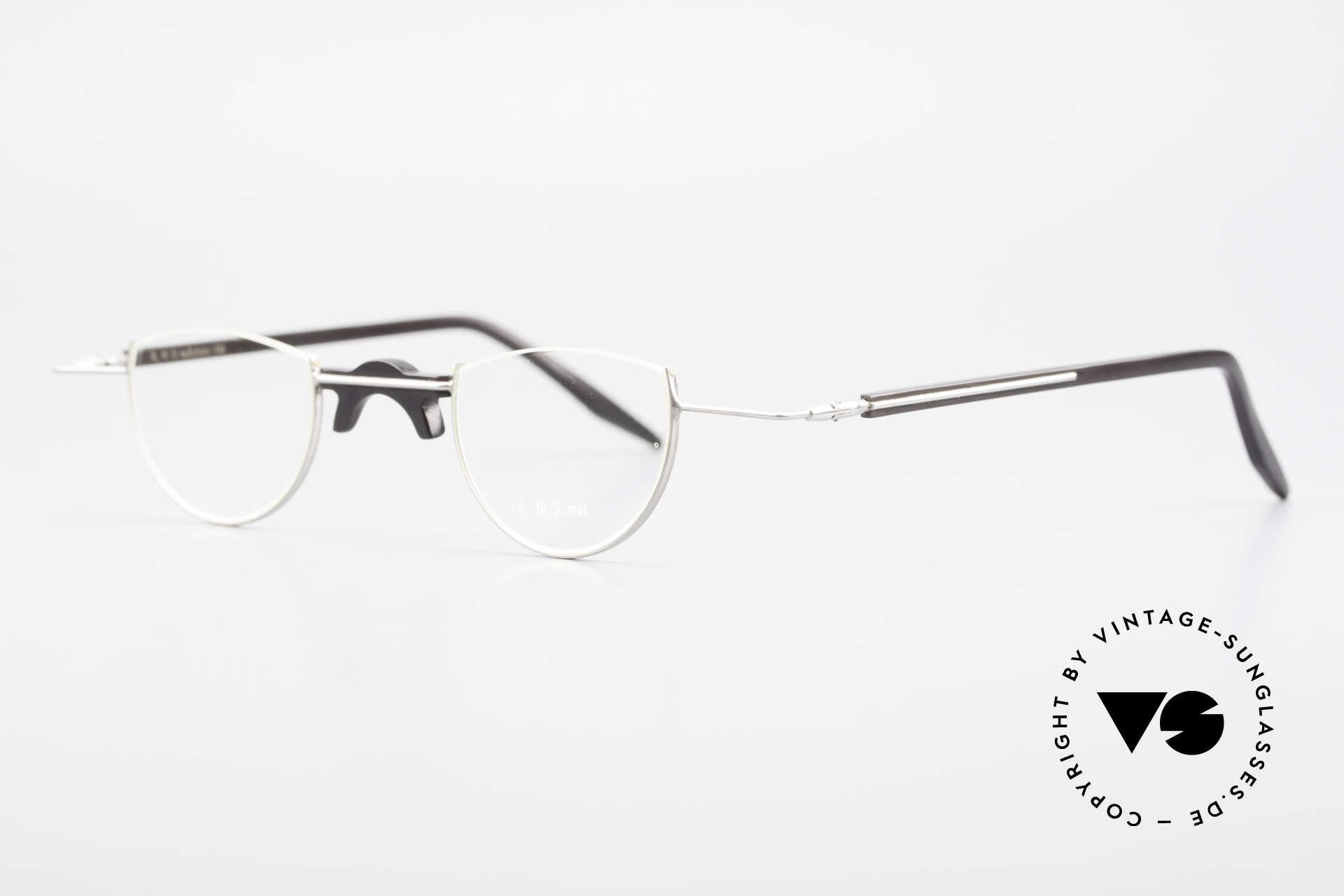Wolfgang Katzer Fil 5 Genuine Horn Reading Glasses, 12g only, (pure natural material - handmade), vertu!, Made for Men