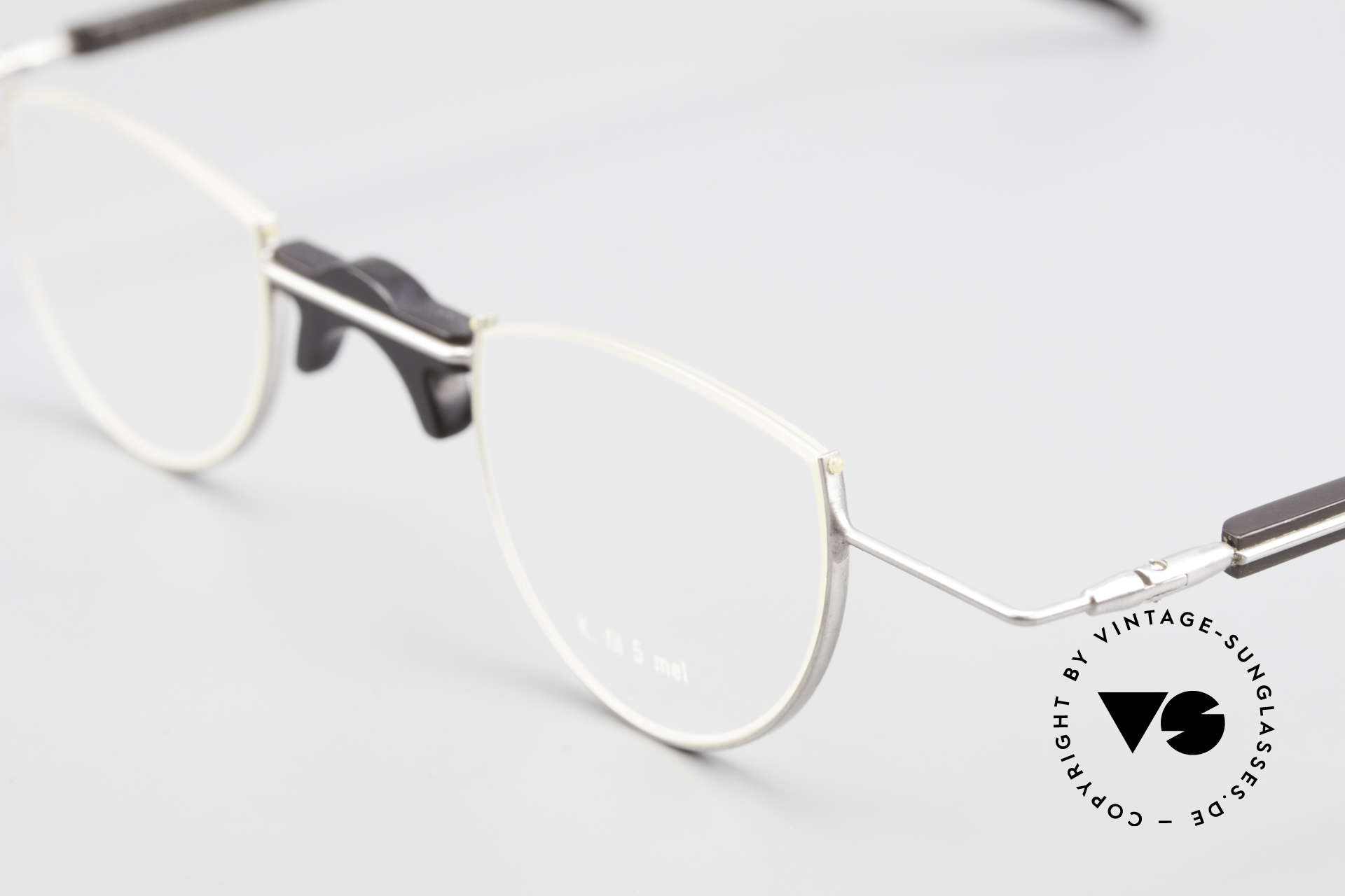 Wolfgang Katzer Fil 5 Genuine Horn Reading Glasses, every model (made of horn) looks individual / unique, Made for Men