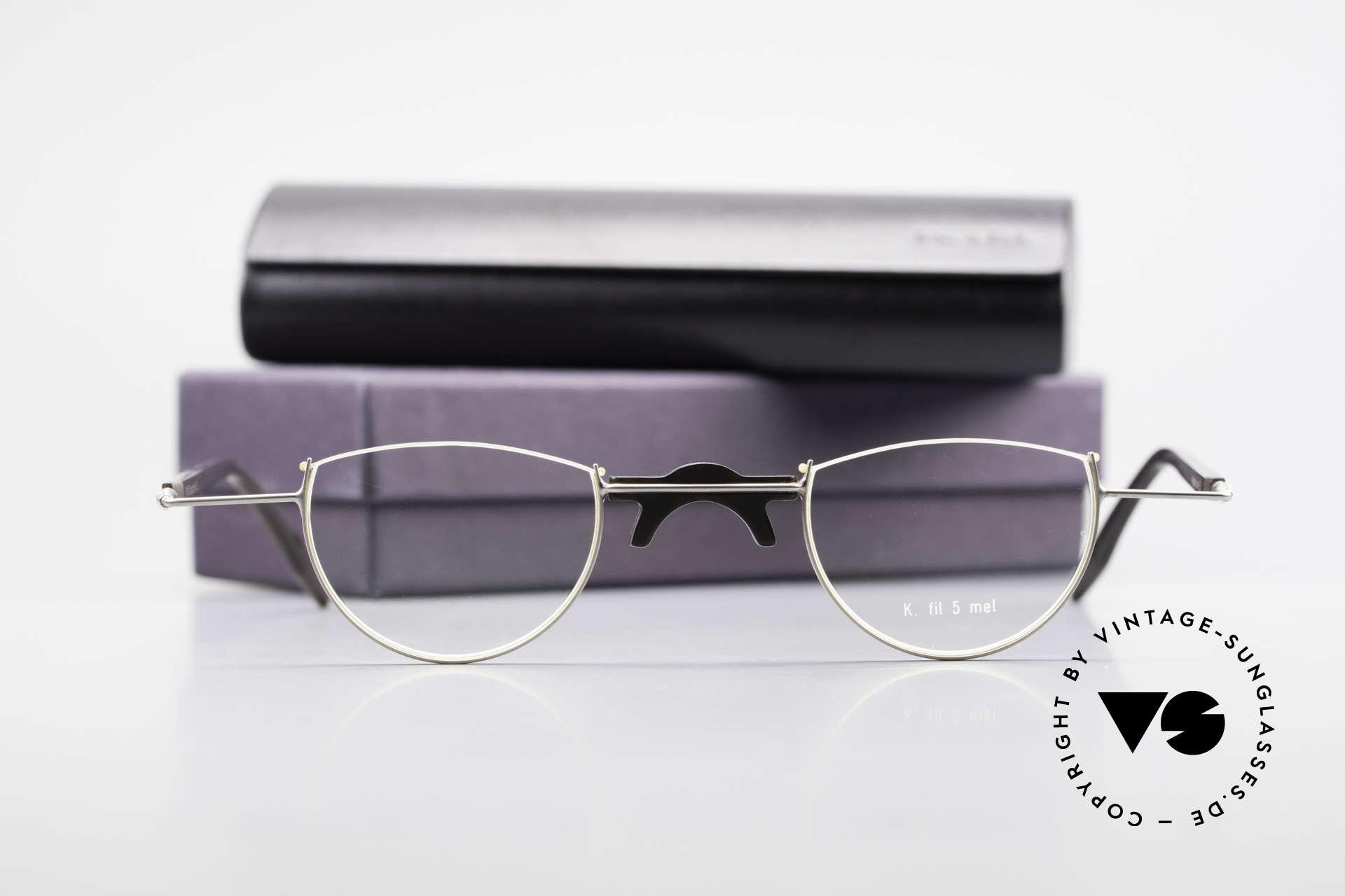 Wolfgang Katzer Fil 5 Genuine Horn Reading Glasses, Size: large, Made for Men