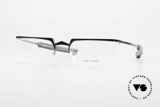 Issey Miyake 01 Alain Mikli Folding Designer Eyeglasses Details