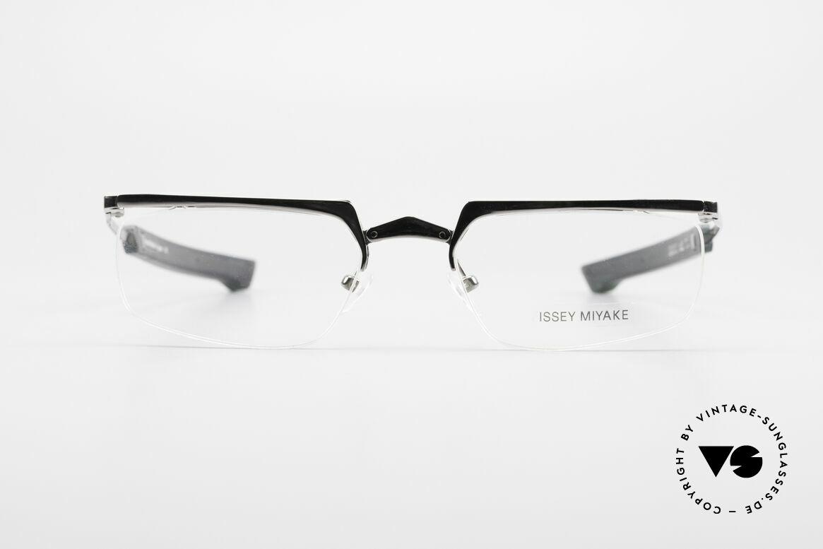 Issey Miyake 01 Alain Mikli Folding Designer Eyeglasses, true INSIDER eyeglasses without big branding, Made for Men and Women