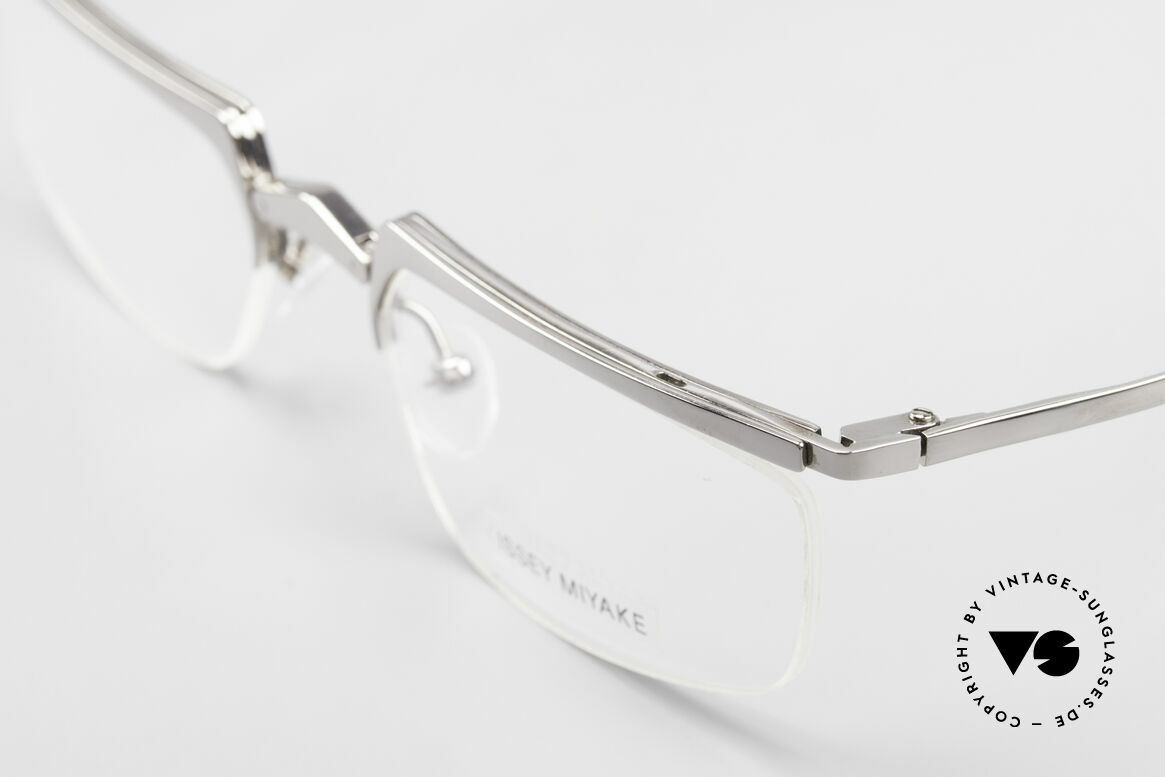 Issey Miyake 01 Alain Mikli Folding Designer Eyeglasses, unworn 90's single item; NO RETRO eyeglasses!, Made for Men and Women