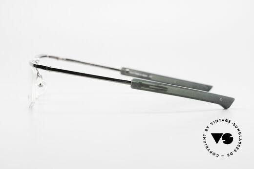 Issey Miyake 01 Alain Mikli Folding Designer Eyeglasses, Issey Miyake frame comes with a case by Prada, Made for Men and Women