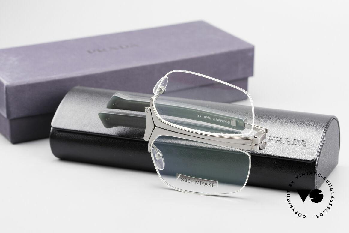Issey Miyake 01 Alain Mikli Folding Designer Eyeglasses, Size: medium, Made for Men and Women