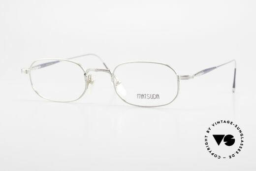 Matsuda 10108 90's Men's Eyeglasses High End Details