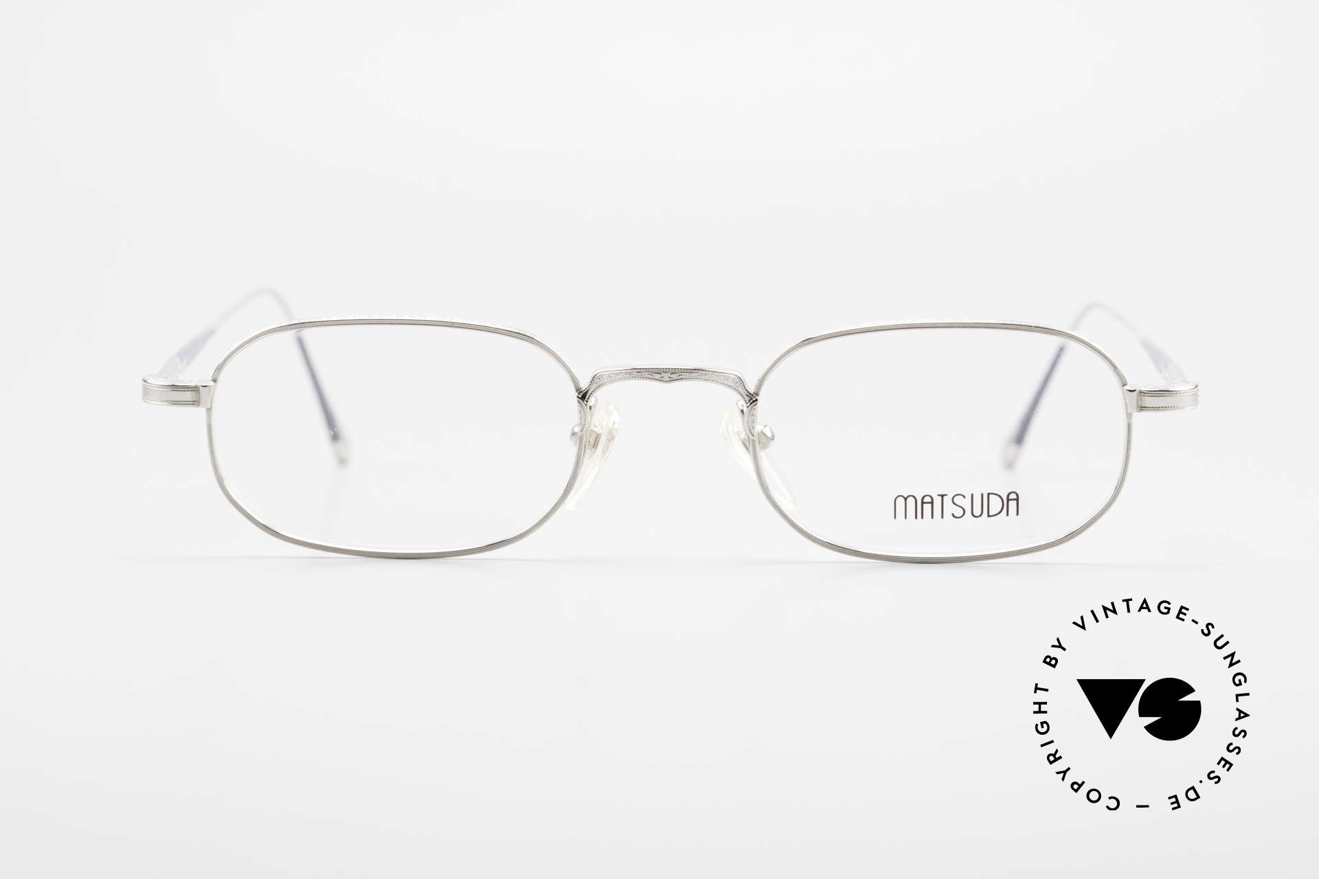 Matsuda 10108 90's Men's Eyeglasses High End, unbelievable craftsmanship, top-notch, made in Japan, Made for Men