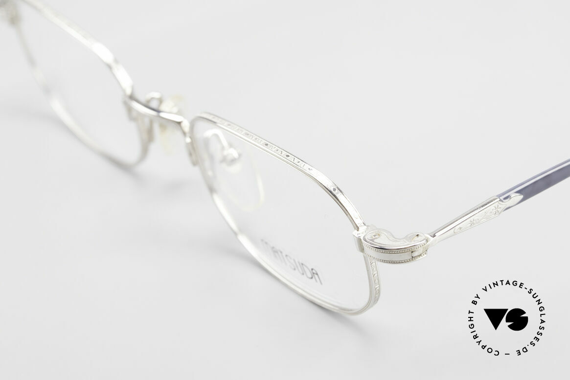 Matsuda 10108 90's Men's Eyeglasses High End, a masterpiece with attention to details for quality lovers, Made for Men