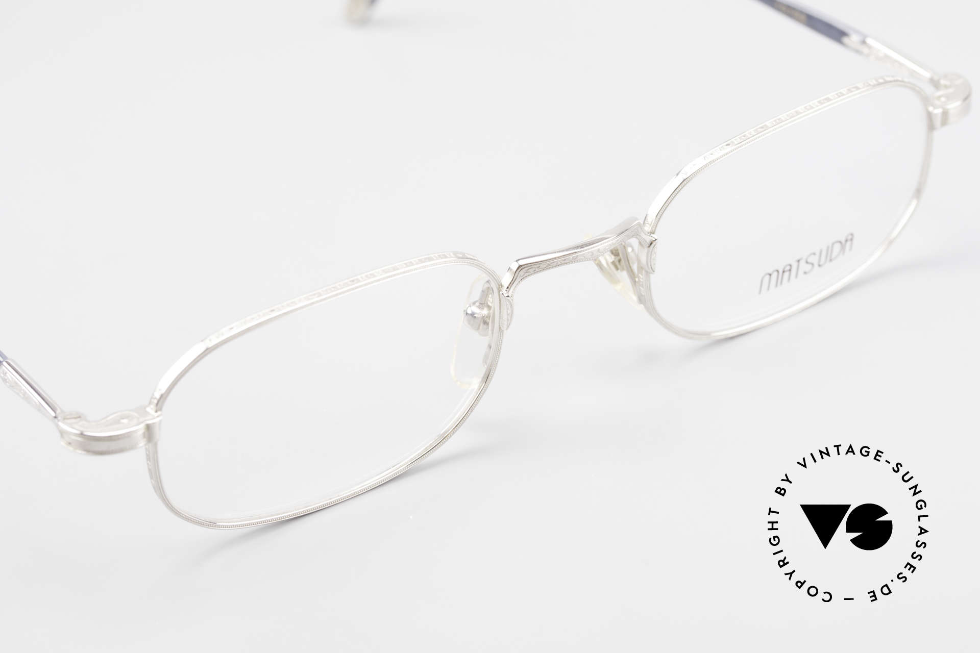 Matsuda 10108 90's Men's Eyeglasses High End, unworn rarity (like all our rare vintage Matsuda frames), Made for Men
