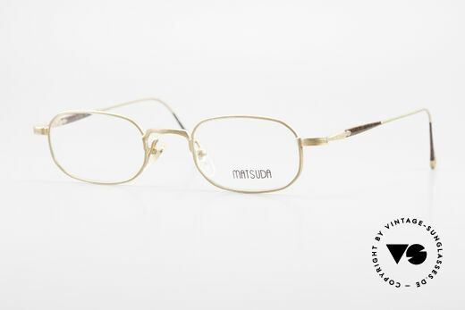 Matsuda 10108 Men's Eyeglasses 90's High End Details