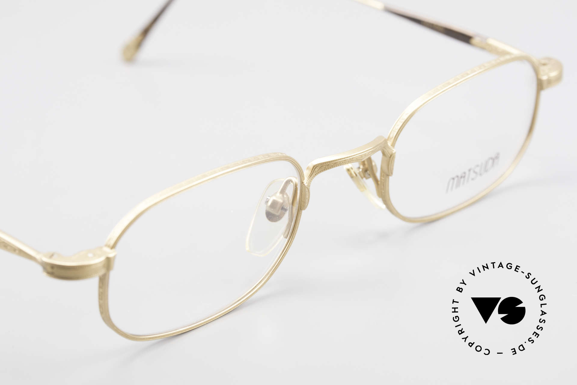 Matsuda 10108 Men's Eyeglasses 90's High End, the DEMO lenses can be replaced with lenses of any kind, Made for Men
