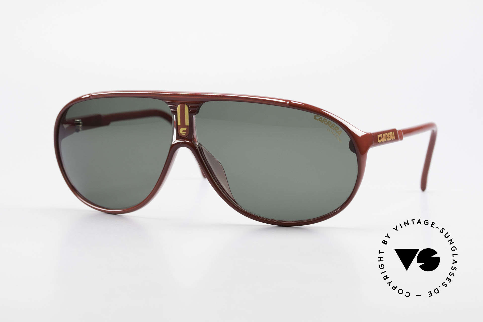 Carrera 5412 3 Sets Of Different Sun Lenses, simply ingenious 80's vintage sunglasses by CARRERA, Made for Men and Women
