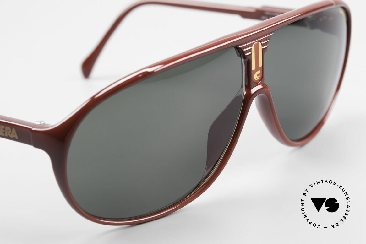 Carrera 5412 3 Sets Of Different Sun Lenses, green and brown Ultrasight and brown-gradient C-Vision, Made for Men and Women