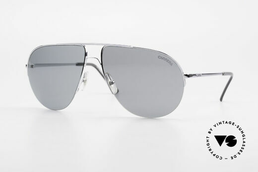 Carrera 5589 Large 80's Aviator Sunglasses Details