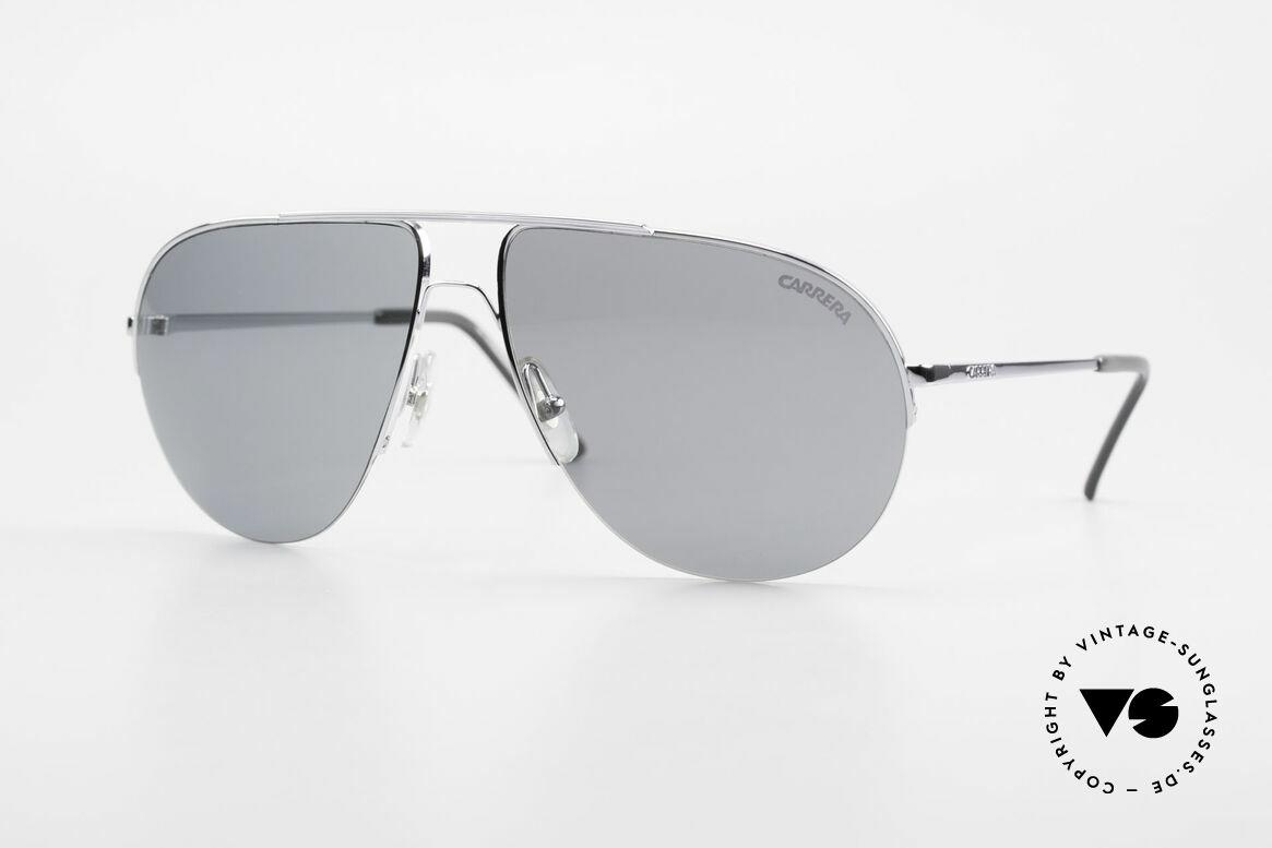 Carrera 5589 Large 80's Aviator Sunglasses, rare, high-end 80's Carrera designer sunglasses, Made for Men