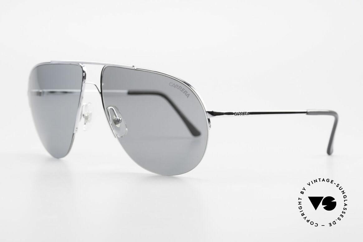 Carrera 5589 Large 80's Aviator Sunglasses, typical 80's aviator design; true VINTAGE shades, Made for Men