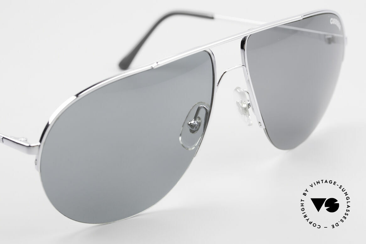 Carrera 5589 Large 80's Aviator Sunglasses, unworn (like all our vintage eyewear by Carrera), Made for Men