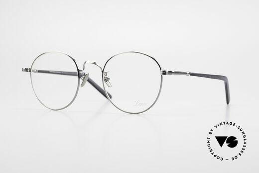Lunor VA 111 Classy Panto Eyeglasses 2015 Details