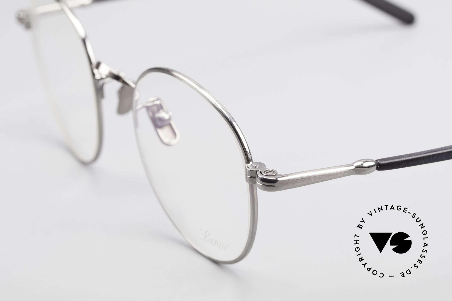 Lunor VA 111 Classy Panto Eyeglasses 2015, from the 2015's collection, but in a well-known quality, Made for Men