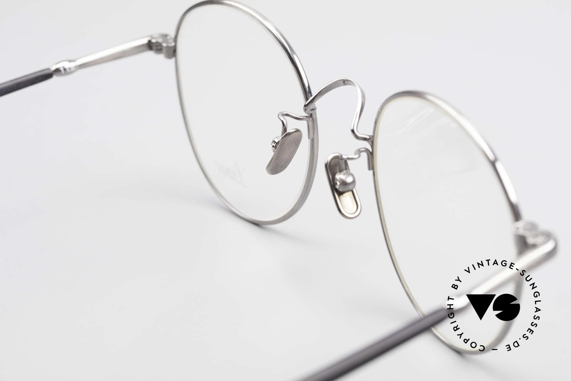 Lunor VA 111 Classy Panto Eyeglasses 2015, Size: large, Made for Men