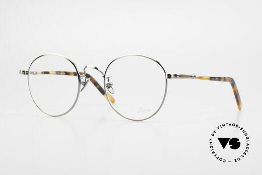 Lunor VA 111 Classy Men's Panto Eyeglasses Details