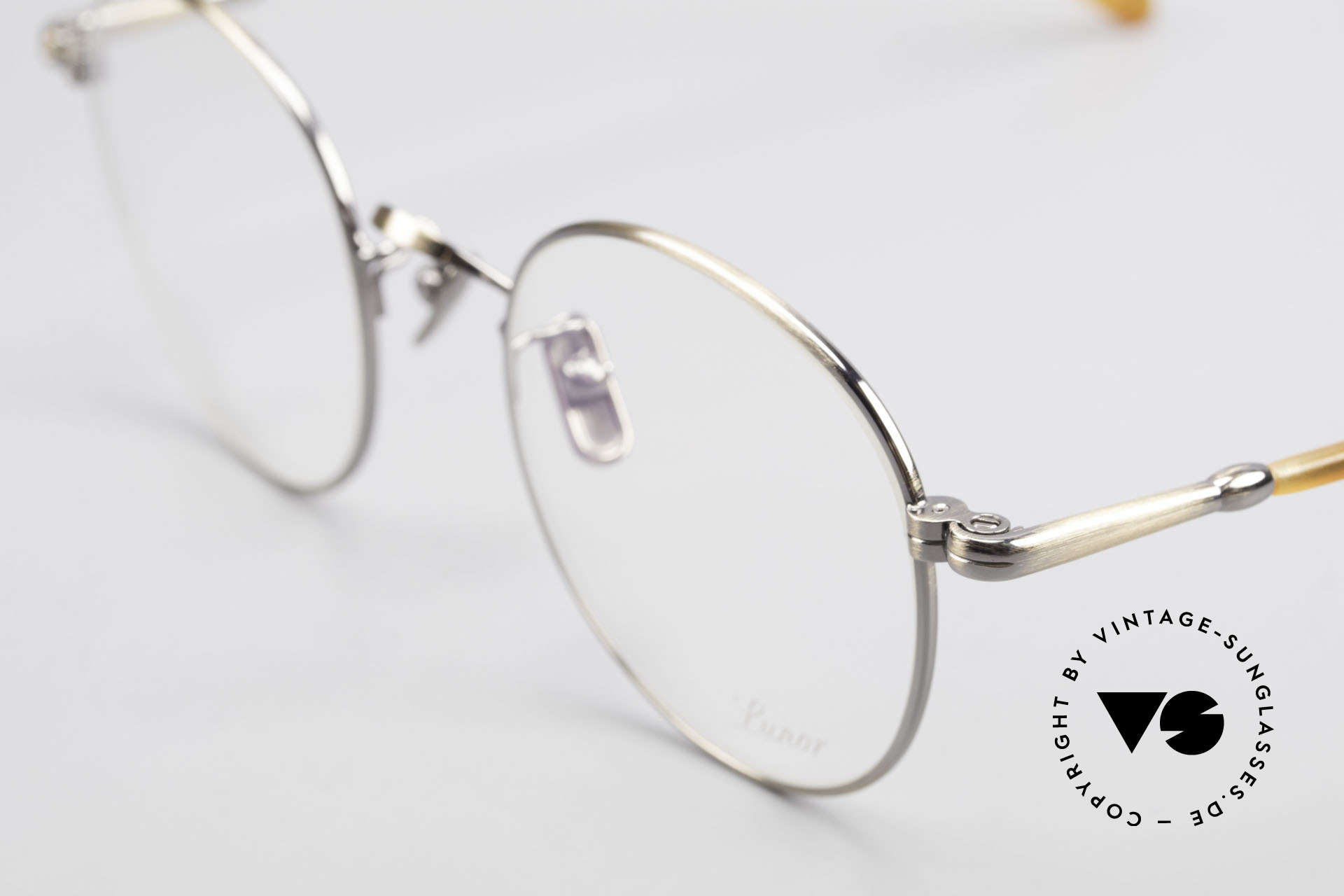 Lunor VA 111 Classy Men's Panto Eyeglasses, from the 2015's collection, but in a well-known quality, Made for Men