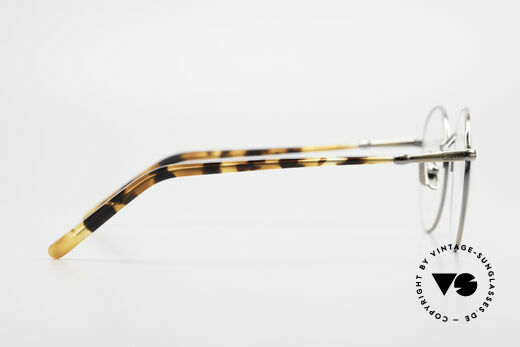 Lunor VA 111 Classy Men's Panto Eyeglasses, of course, unworn (with an orig. wood case by LUNOR), Made for Men