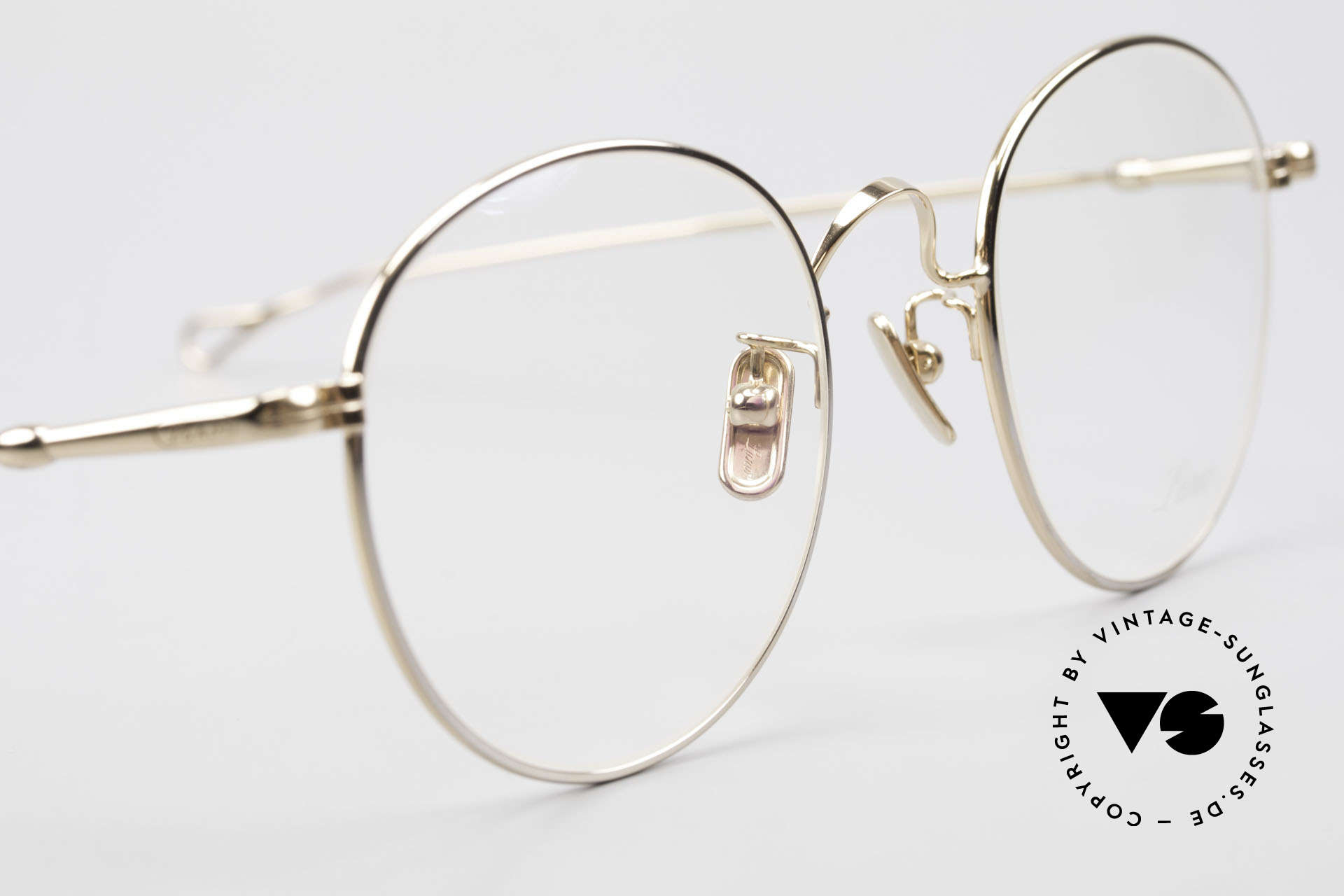 Lunor V 111 Men's Panto Frame Gold Plated, thus, we decided to take it into our vintage collection, Made for Men