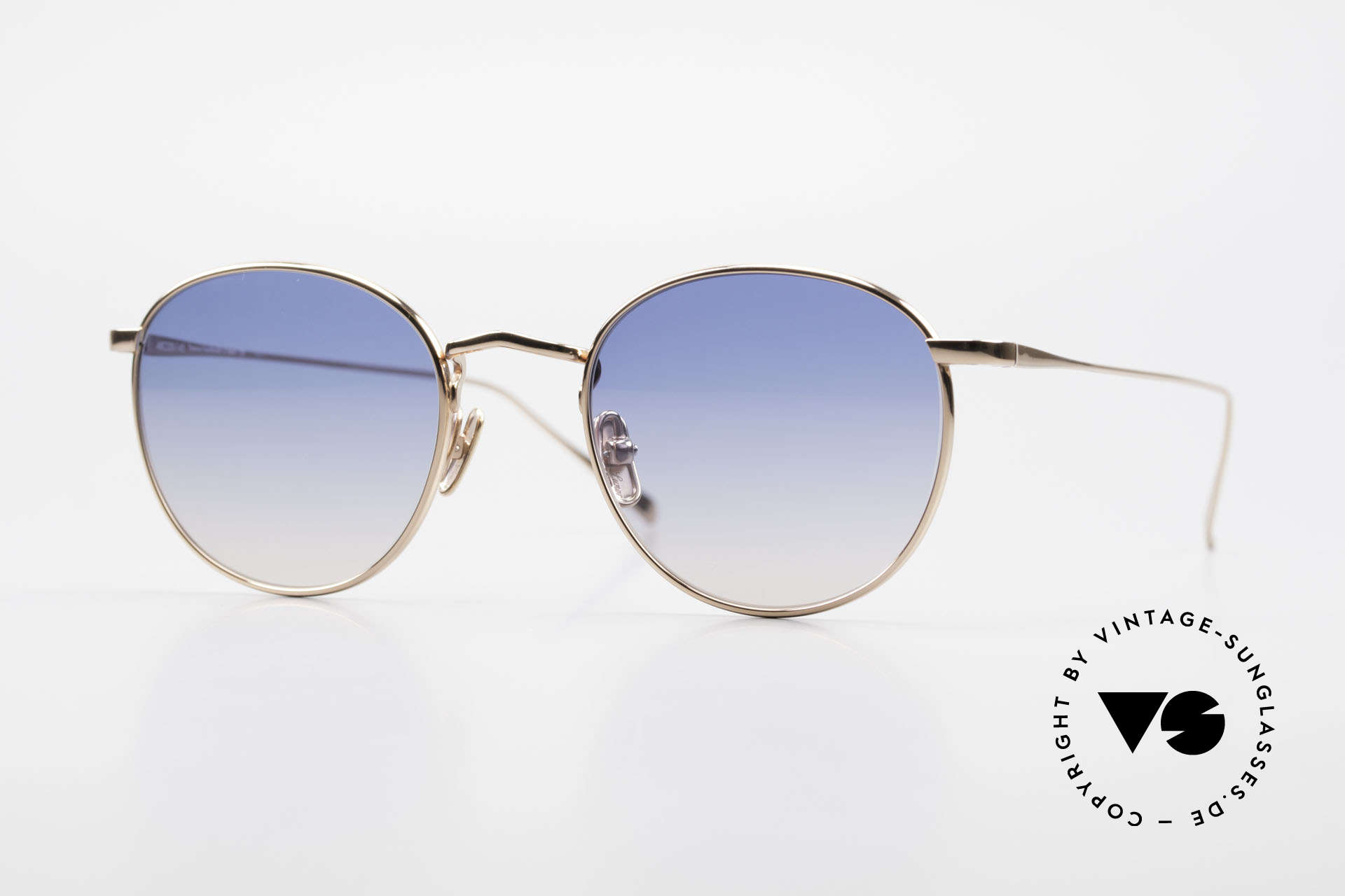 Lunor M9 Mod 01 RG Titan Sunglasses Rose Gold, LUNOR: honest craftsmanship with attention to details, Made for Men and Women
