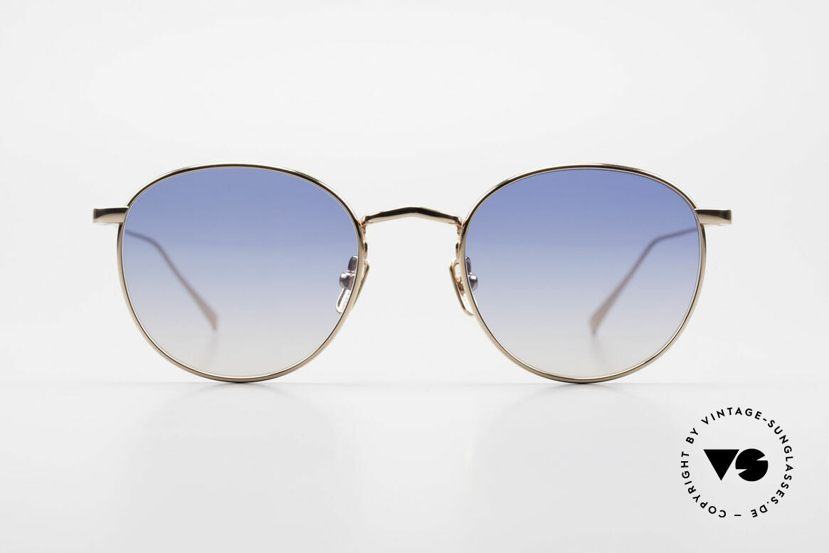 Lunor M9 Mod 01 RG Titan Sunglasses Rose Gold, without ostentatious logos (but in a timeless elegance), Made for Men and Women