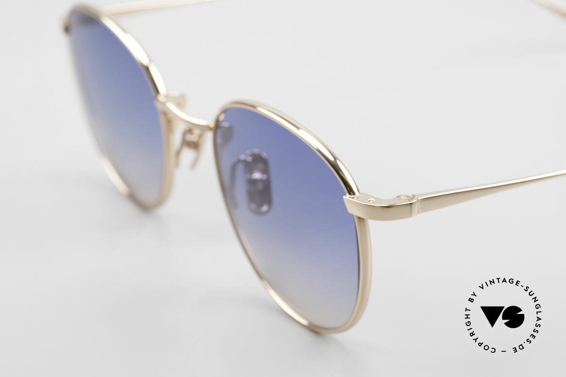 Lunor M9 Mod 01 RG Titan Sunglasses Rose Gold, from the latest collection, but in a well-known quality, Made for Men and Women