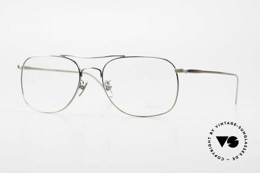 Lunor Aviator II P4 AG Classy Men's Eyeglass-Frame Details