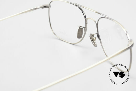 Lunor Aviator II P4 AG Classy Men's Eyeglass-Frame, unworn; demo lenses can be replaced with prescriptions, Made for Men