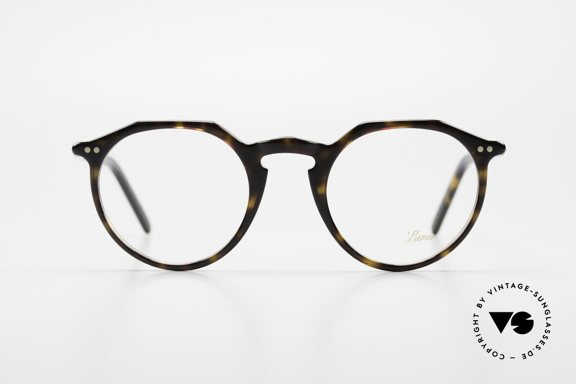 Lunor A5 237 Classic Timeless Panto Frame, traditional German brand; quality handmade in Germany, Made for Men and Women